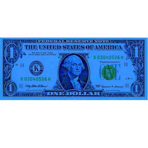 Imagen de 1 Dólar BLue