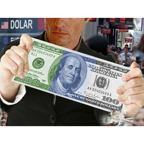 Mitad Dólar Blue, Mitad Oficial