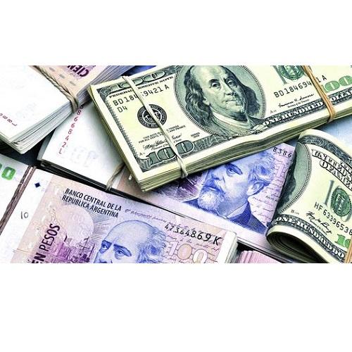 Dólar blue entre pesos argentinos